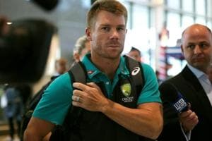 David Warner returned to the field in a recent Twenty20 tournament in Canada.