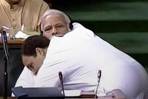 A curious case of arms engaging in hug-lomacy that saw political heads minding their 'P's and cues'.
