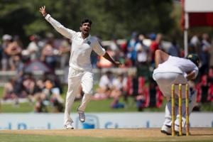 Jasprit Bumrah made his Test debut earlier this year in South Africa.