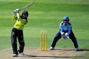 Smriti Mandhana is currently playing for Western Storm in the Kia Super League.