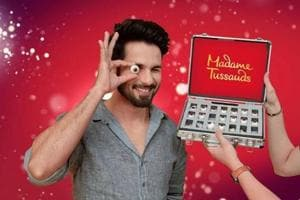 Shahid Kapoor will join Bollywood and Hollywood greats in London's Madame Tussauds.