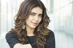 Actor Karishma Tanna plays Vicky Kaushal's girlfriend in Sanju.