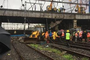 The Andheri bridge collapse claimed one life and left three others injured.