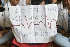 Protesting doctors said the Madhya Pradesh government has clamped Essential Services Maintenance Act (ESMA) on them.