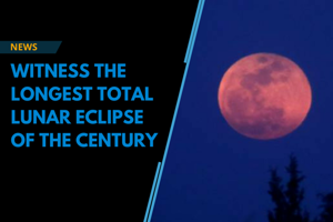 Watch out for the longest total lunar eclipse and blood moon of the cen...