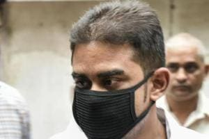 Mekhail at the sessions court on Monday