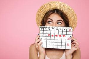 Tracking your menstrual cycle is good for your health.