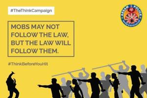 Thanks to 'The Think Campaign' launched on social media, Assam Police's Facebook page has over 30,000 followers now and the Twitter handle is followed by over 4,100 users.