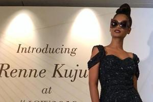 Renee Kujur, the gorgeous model from Chattisgarh and Rihanna doppelganger, was formally introduced to the world at India Couture Week 2018.