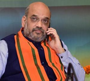 The BJP chief's Allahabad visit will be his first after completing the first round of Lok Sabha poll preparations.