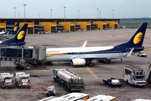 A Jet Airways plane parked at New Delhi's IGI airport (Photo for representational purpose)
