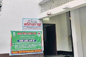 The short-stay home in Muzaffarpur that has been embroiled in a sex scandal involving inmates.