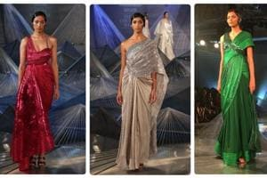 ICW 2018: Amit Aggarwal's collection was a dream for saree gown lovers