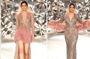 Looking for some cocktail dress inspiration? Look no further than Falguni and Shane Peacocks latest couture collection at India Couture Week 2018.