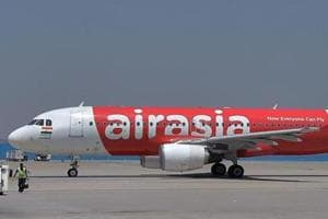 Air Asia's crew discovered an abandoned foetus in one of the lavatories of the I5-784 Imphal-Guwahati-Delhi flight when the plane was preparing to land in Delhi on Wednesday.