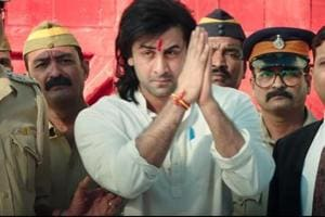 Ranbir Kapoor played the title role in the movie based on fellow-actor Sanjay Dutt's life.