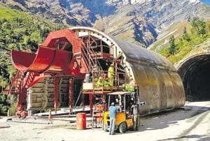 The tunnel will shorten the 474-km distance between Manali and Leh by 46 km.