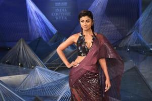 India Couture Week 2018, Day 3: Shilpa Shetty sizzles as Amit Aggarwal's showstopper