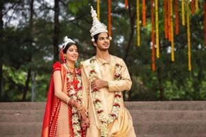 Janhvi Kapoor and Ishaan Khatter in a still from Dhadak.