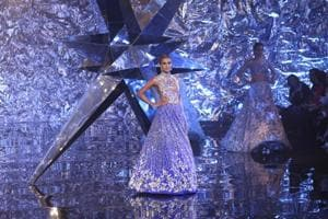 Suneet Varma's India Couture Week show proves there's no such thing as too much sparkle