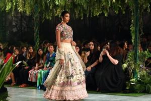 With his India Couture Week 2018 collection, fashion designer Rahul Mishra seemed to be fondly looking to the past in order to move forward into the future.