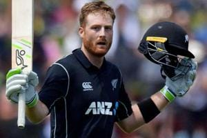 Martin Guptill scored a brilliant hundred as Worcestershire defeated Northamptonshire in the T20 Blast on Friday.