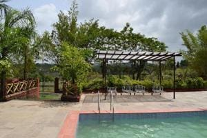 The resort-themed Karjat Waters has a pond and a bird sanctuary on the premises.