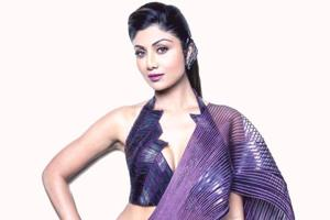 Shilpa Shetty Kundra was in full showstopper form at India Couture Week 2018 on Friday, wearing a saree that few could pull off as well.