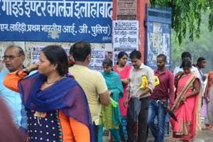 UPPSC passes its biggest test: LT grade teachers' recruitment exam 2018 was held peacefully at 1760 centres in 39 districts of UP.