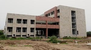 Newly Constructed Civil Hospital Sector 48 in Chandigarh.