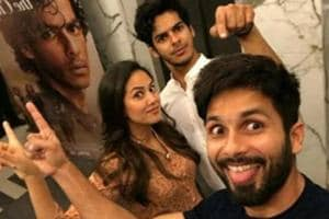 Ishaan Khatter says he bonds over films with brother Shahid Kapoor.
