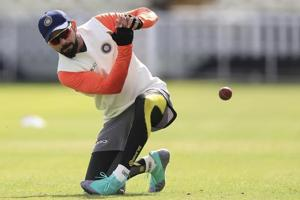 "Former England captain Michael Vaughan goaded the pace duo of Stuart Broad and James Anderson to ""step up and challenge Virat Kohli's front foot""."