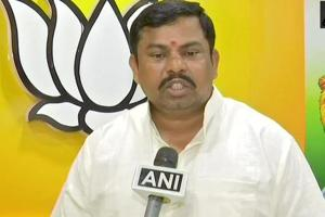 BJPMLARaja Singh is known for making controversial statements.