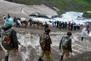 The two-month long pilgrimage this year comes amid governor's rule in the state after the fall of BJP-PDP government on June 20.