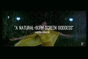 A still from Saba Arif's original video that was also used in the IIFA Awards tribute to the late actor Sridevi.