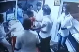 A DMK worker allegedly assaulted the employees of a restaurant in Chennai after it declined to serve him food since it had closed for the day.