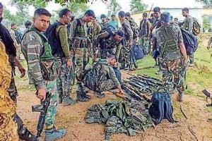 Police records show Maoists have looted 750 high grade weapons in Bastar region from the security personnel since 2001.