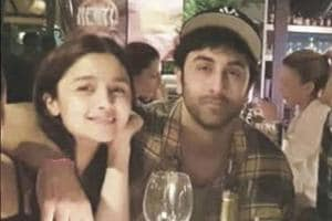 Alia Bhatt and Ranbir Kapoor spotted together in Bulgaria.