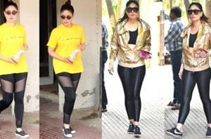 Kareena Kapoor Khan's your girl, if you ever need gym outfit inspiration. (Instagram)