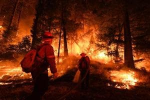 Photos of the week: California wildfires and a record heatwave in Europe