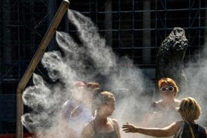 Photos: Europe swelters as temperatures reach continental all-time high