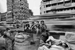 'When I was doing my second book on Kolkata, I started to notice every child in every street, these children who had no homes and no schooling, but knew the simple joys of life,' says Raghu Rai. The photo above was taken at this time.