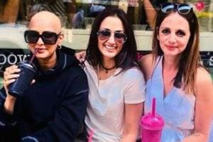 Sonali Bendre refused to let cancer rule her life as she shared a joyful new photo with friends on Friendship Day.