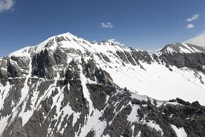 The Junker plane, which can carry up to 17 passengers and three crew, crashed into the Piz Segnas mountain in the east of the country on Saturday, at an altitude of around 2,500 metres.