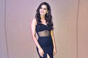 Manushi Chhillar has a soft spot for sophisticated black and white outfits.  (Instagram)