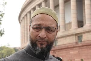 """Few days after a Muslim man was forced to shave off his beard following an altercation in Gurugram, All India Majlis-e-Ittehadul Muslimeen (AIMIM) president Asaduddin Owaisi has threatened the accused that he would be """"converted to Islam""""."""