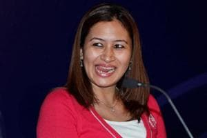 Jwala Gutta looked impressed with the facilities in Jaipur.