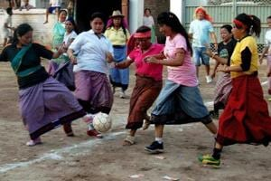 From Sadalpur village to Bhutan,  how football transformed the lives of these 8 girls
