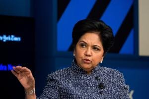 Indra Nooyi, chairman and chief executive officer of PepsiCo Inc.,  is the first foreign-born CEO of Pepsi and the first woman to lead the chips-and-soda behemoth.