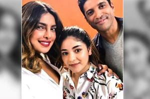 Priyanka Chopra, Zaira Wasim and Farhan Akhtar have begun shooting for The Sky Is Pink.